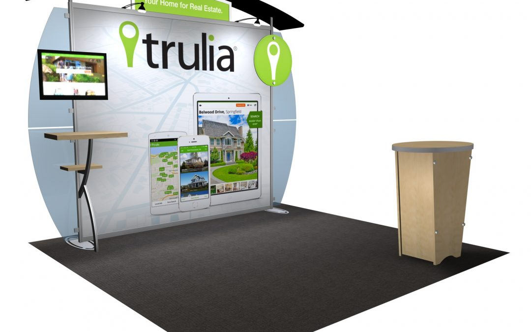 Various Uses of Trade Show Displays in Different Events
